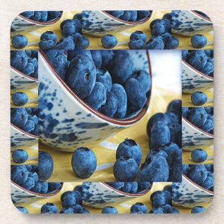 Blueberries chefs healthy diet cuisine salads drink coaster