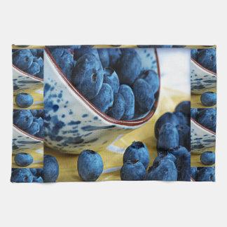 Blueberries chefs healthy diet cuisine salads kitchen towel