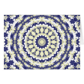 Blueberries & Cream  Kaleidoscope Card