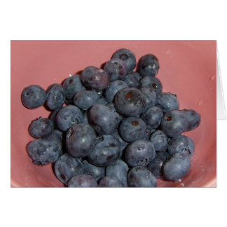 Blueberries CricketDiane Art, Design & Photography Card