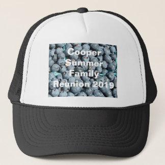 Blueberries Customizable Clothing Trucker Hat