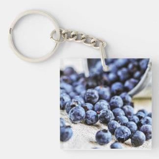 Blueberries Key Ring