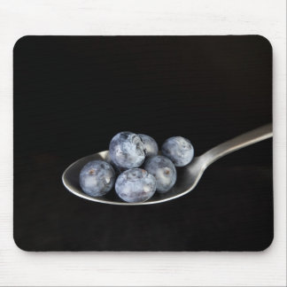 Blueberries on a Spoon Mouse Pad