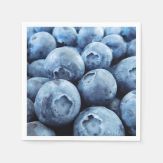 Blueberries Paper Napkin