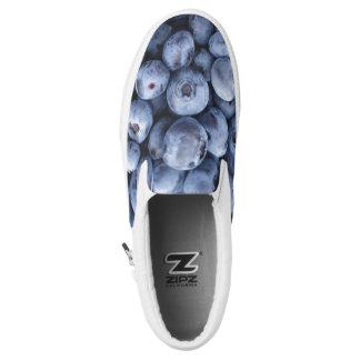 blueberries Slip-On shoes