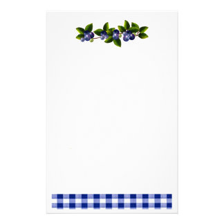 Blueberries Stationery