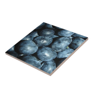 Blueberries Tile