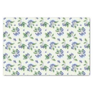 Blueberries Tissue Paper