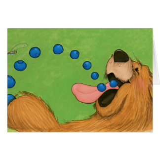 Blueberry Bear / Note Card