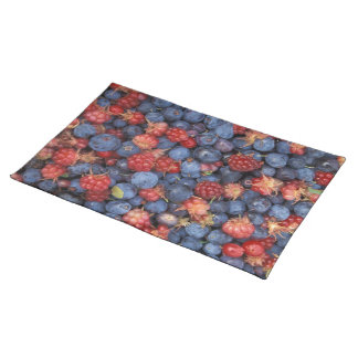 Blueberry Blue Colorful Fruit Food Sweet Destiny Placemat