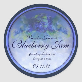 Blueberry Canning Label 1