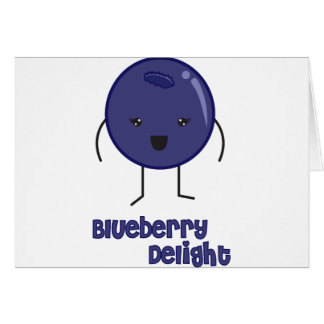 Blueberry Card