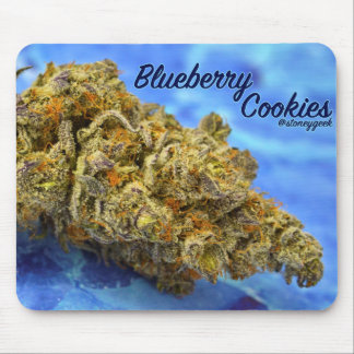 Blueberry Cookies by StoneyGeek Mouse Pad