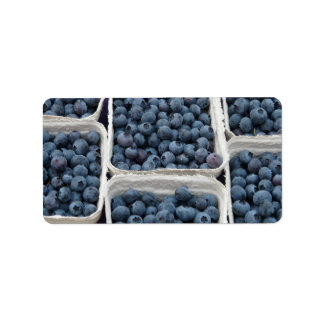 Blueberry Crates Address Label