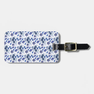 blueberry crush luggage tag