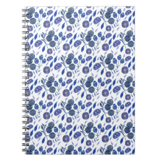 blueberry crush notebook