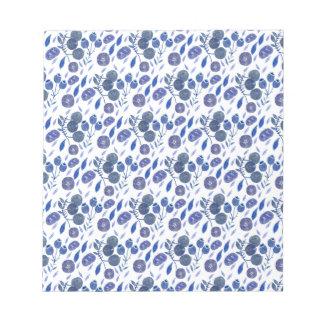 blueberry crush notepad