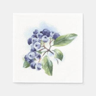 Blueberry Disposable Napkin
