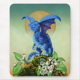 Blueberry Dragon Mousepad