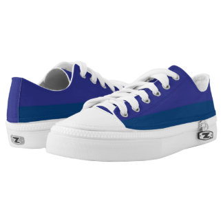 Blueberry Duel I Two-Tone Lo-Top