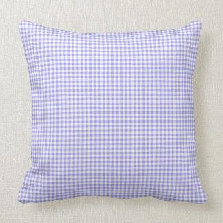 Blueberry-Gingham-Fabric(c) Multi-Sz & Lumbar Cushion
