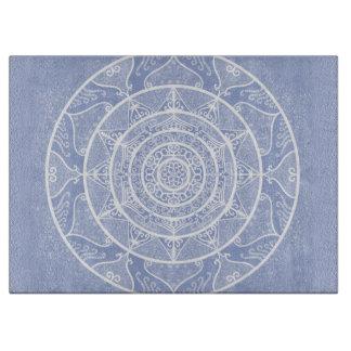 Blueberry Mandala Cutting Board