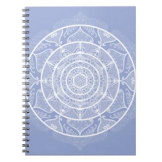 Blueberry Mandala Notebook