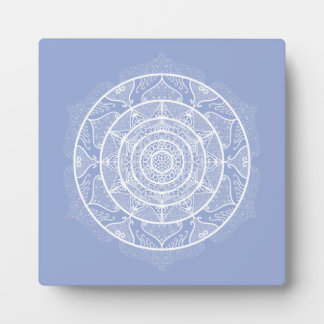 Blueberry Mandala Plaque