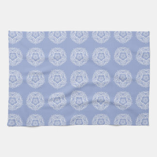 Blueberry Mandala Tea Towel
