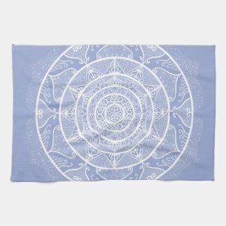 Blueberry Mandala Tea Towel