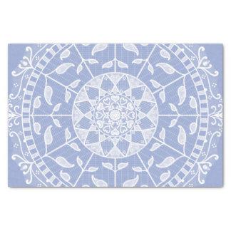 Blueberry Mandala Tissue Paper