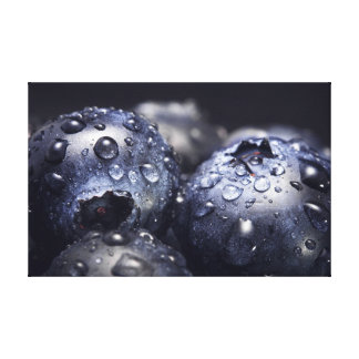 Blueberry Mayhem Canvas Print
