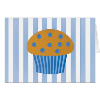 Blueberry Muffin Card