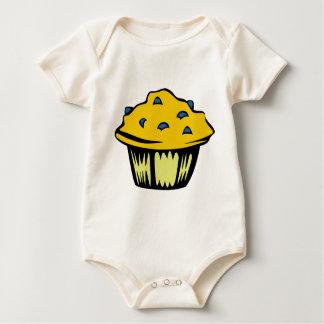 Blueberry Muffin Cartoon Baby Bodysuit