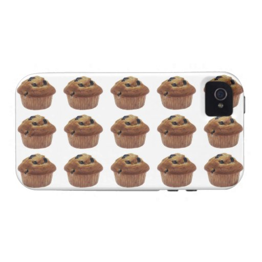 Blueberry Muffin iPhone 4 Cover