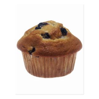 Blueberry Muffin Postcard