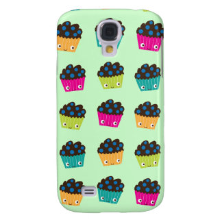 Blueberry Muffins Galaxy S4 Covers