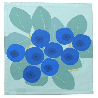 blueberry napkin