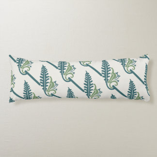 Blueberry Nouveau Art Deco Body Pillow Sprig