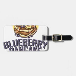 Blueberry Pancake Day - Appreciation Day Luggage Tag