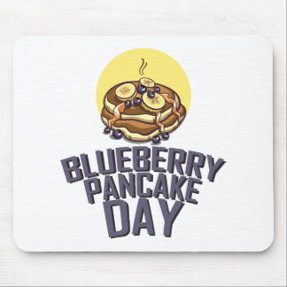 Blueberry Pancake Day - Appreciation Day Mouse Pad