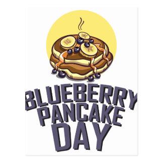 Blueberry Pancake Day - Appreciation Day Postcard