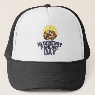 Blueberry Pancake Day - Appreciation Day Trucker Hat
