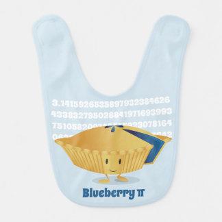 Blueberry Pi Day | Baby Bib