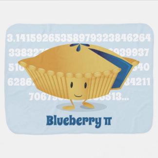 Blueberry Pi Day | Baby Blanket