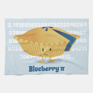 Blueberry Pi Day | Kitchen Towel