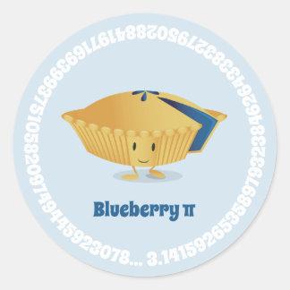 Blueberry Pi Day   Sticker