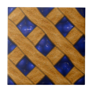 Blueberry Pie, Berry, Dessert, Bakery, Blueberry Ceramic Tile
