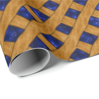 Blueberry Pie, Berry, Dessert, Bakery, Blueberry Wrapping Paper