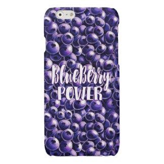 Blueberry power Fresh berry illustration